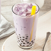 How to Make a Cup of Taro Bubble Milk Tea Like a Bubble Tea Shop ?