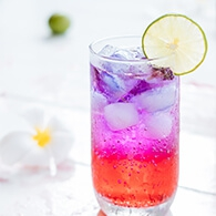How To Make a Stunning Layered Sparkling Drink?