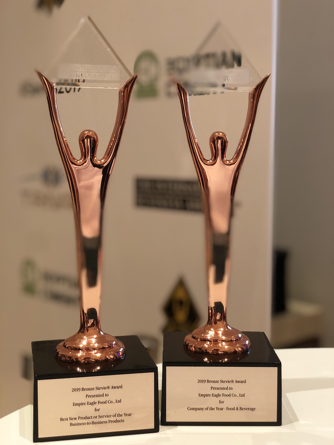 Empire Eagle Food wins 2019 IBA @Steive Award